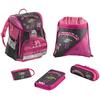 Набор школьный Hama Step by Step Flamingo 5 предметов (ортопедический) - фото 1