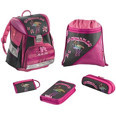 Набор школьный Hama Step by Step Flamingo 5 предметов (ортопедический)