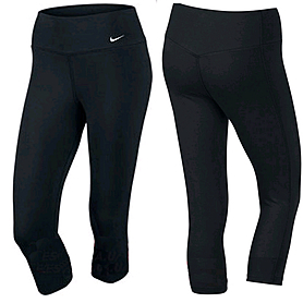 Фото 1 к товару Капри женские спортивные Nike Legend 2.0 Ti Dfc Capri черные