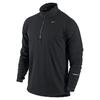 Футболка мужская Nike Element 1/2 Zip черная - фото 1