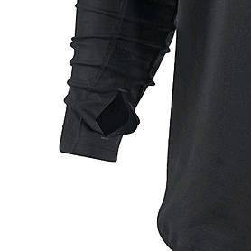 Фото 3 к товару Футболка мужская Nike Element 1/2 Zip черная