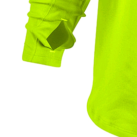 Фото 3 к товару Футболка мужская Nike Element 1/2 Zip зеленая