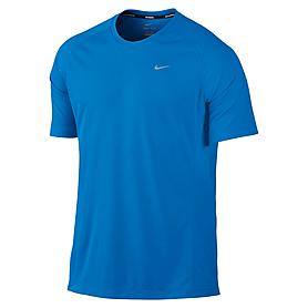 Фото 1 к товару Футболка мужская Nike Miler SS UV (Team) синяя