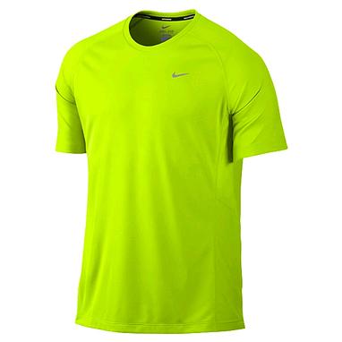 Футболка мужская Nike Miler SS UV (Team) зеленая