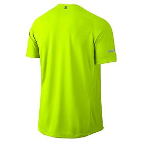 Фото 2 к товару Футболка мужская Nike Miler SS UV (Team) зеленая