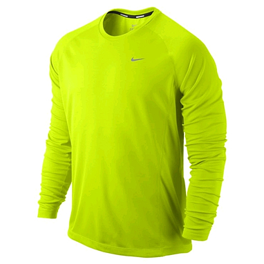 Футболка мужская Nike Miler LS UV (Team)