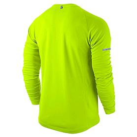 Фото 2 к товару Футболка мужская Nike Miler LS UV (Team)