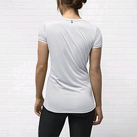 Фото 3 к товару Футболка женская Nike Miler SS Crew Top белая
