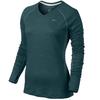 Футболка женская Nike Dri-Fit Wool V-Neck Top - фото 1