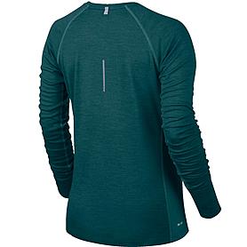 Фото 2 к товару Футболка женская Nike Dri-Fit Wool V-Neck Top