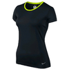 Футболка женская Nike Pro Hypercool SS Top черная 589377-012 - фото 1