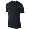 Футболка мужская Nike Dri-Fit Knit SS черная - фото 1