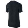 Футболка мужская Nike Dri-Fit Knit SS черная - фото 2