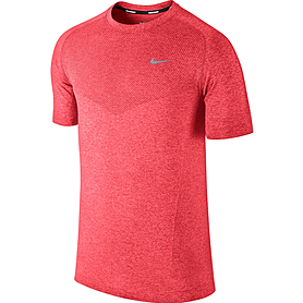 Фото 1 к товару Футболка мужская Nike Dri-Fit Knit SS красная