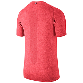 Фото 2 к товару Футболка мужская Nike Dri-Fit Knit SS красная