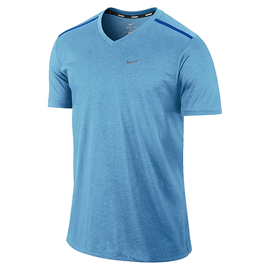 Футболка мужская Nike Tailwind SS V голубая