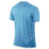 Футболка мужская Nike Tailwind SS V голубая - фото 2