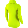 Футболка женская Nike Pro Hyperwarm Infinity салатовая - фото 2