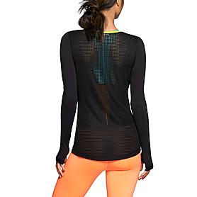 Футболка женская Nike Pro Hypercool LS Top черная
