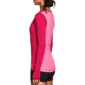 Фото 3 к товару Футболка женская Nike Pro Hypercool LS Top розовая