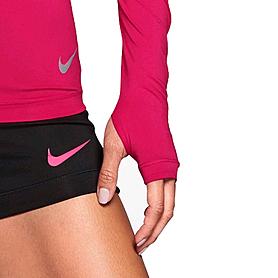 Фото 4 к товару Футболка женская Nike Pro Hypercool LS Top розовая