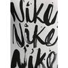 Футболка женская Nike Brush Up SS VNeck Tee белая - фото 3