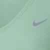 Футболка женская Nike Dri-Fit Knit Texture V-Neck зеленая - фото 3