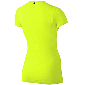 Фото 2 к товару Футболка женская Nike Dri-Fit Knit Texture V-Neck