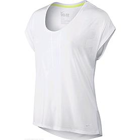 Фото 1 к товару Футболка женская Nike Club Boxy Tee Logo белая 637553-100