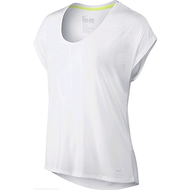 Футболка женская Nike Club Boxy Tee Logo белая 637553-100