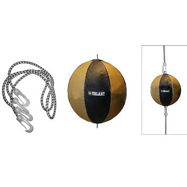 Груша боксерская пневматическая ZLT (кожа) 24 см