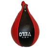 Груша боксерская пневматическая Velo (кожа) 28х17 см Uli-8002 - фото 1