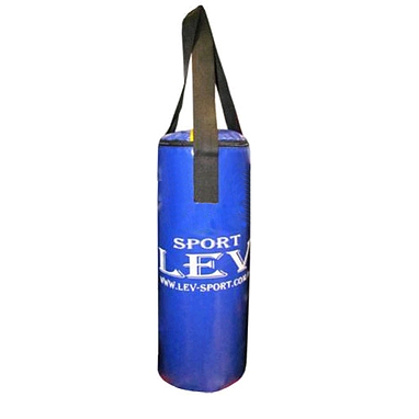 Мешок боксерский цилиндрический Лев (ПВХ) 65х28 см