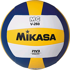Фото 1 к товару Мяч волейбольный Mikasa MGV-260 (Оригинал)