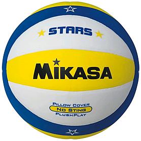 Фото 1 к товару Мяч волейбольный Mikasa VXS-SA (Оригинал) VSV300-STARS-Y