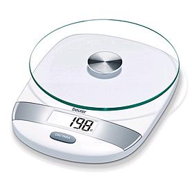 Фото 1 к товару Весы кухонные Beurer KS 31 White