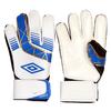 Перчатки вратарские Umbro бело-синие UMB-FB-835 - фото 1