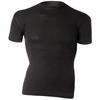 Термофутболка мужская Norveg Soft T-Shirt черная - фото 1
