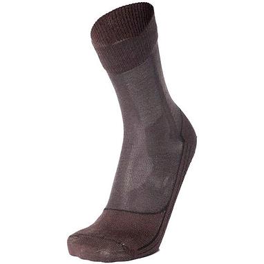 Носки унисекс Norveg Merino Wool коричневые