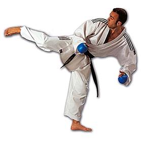 Фото 1 к товару Кимоно для карате Adidas Combat с полосами