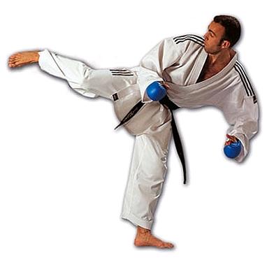 Кимоно для карате Adidas Combat с полосами