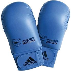 Накладки для карате Adidas WKF синие - S
