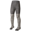 Колготки детские Norveg Merino Wool серые с белыми полосами - фото 1