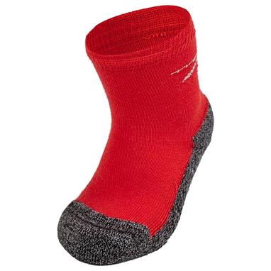 Термоноски детские Norveg Multifunctional Kids Socks серо-красные