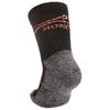 Термоноски детские Norveg Multifunctional Kids Socks черно-серые - фото 2