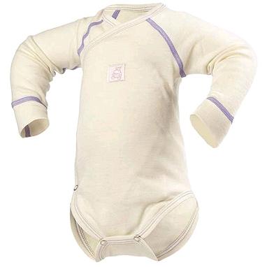 Термободи детское с длинным рукавом Norveg Soft молочное