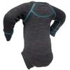 Термободи детское с длинным рукавом Norveg Soft серый мелаж - фото 2