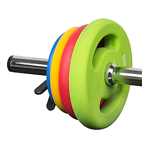 Фото 2 к товару Штанга наборная для фитнеса BP3160 16 кг