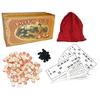 Игра настольная «Русское лото» в бамбуковой коробке - фото 1
