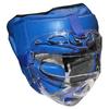 Шлем с маской (кожа) Everlast синий - фото 1